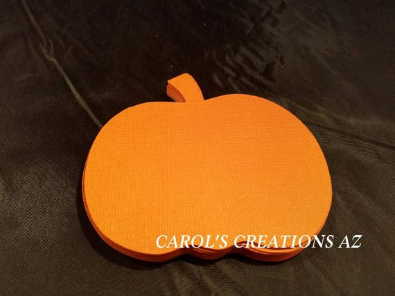 Fall//Harvest Pumpkin Patch  Cardstock Die Cut//Cuts