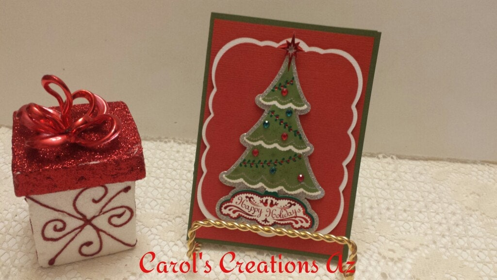 CLEARANCE SALE Handcrafted Christmas Card / Christmas Tree | Etsy