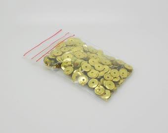 sequins gold color for Carnival 6.30 g sachet