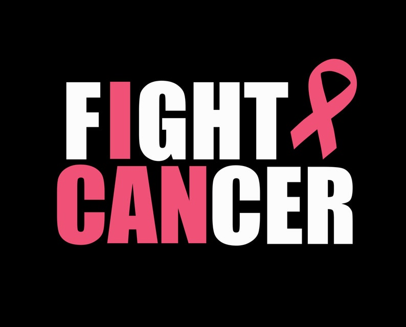 Download Fight Cancer I Can Breast Cancer Awareness Pink Ribbon ...