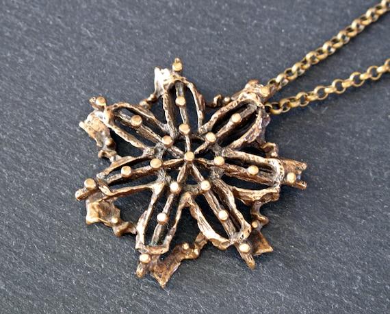KNUT PAULSEN Brutalist Pendant Necklace - Norway S