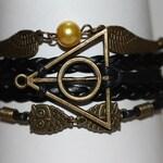 ABSOLUTE~  Angel Wings Bracelet, Absolute Triangle Bracelet, Owls Bracelet, Trinity Bracelet, Spiritual Bracelet, Potter, ilovecheesygrits