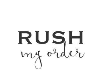 Bella's Impressions Rush Order