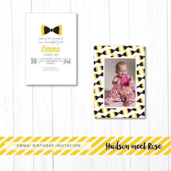 Printable The Emma Birthday Invitation Wiggles Invitation
