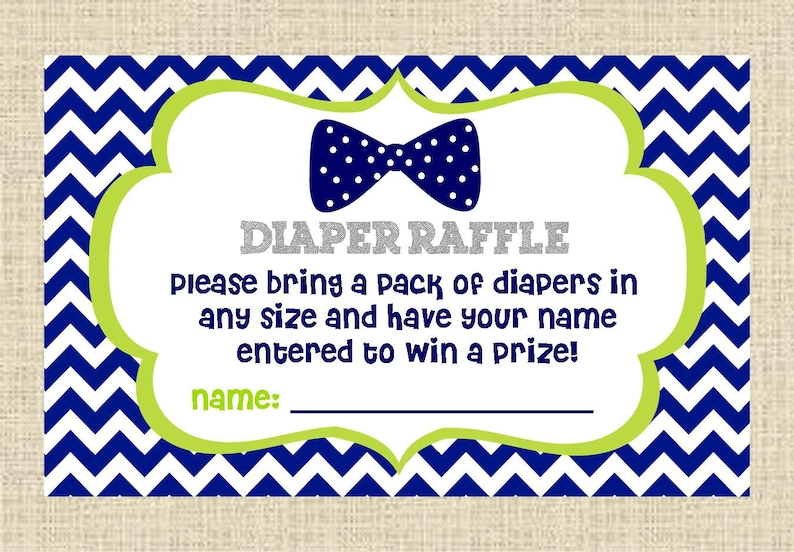 INSTANT DOWNLOAD...Oh Boy Bow Tie Baby Boy Printable Diaper image 0