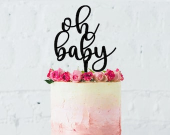 Oh Baby Cake Topper No4