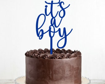 Its a Boy Cake Topper - Baby Shower Cake Topper MADE IN AUSTRALIA