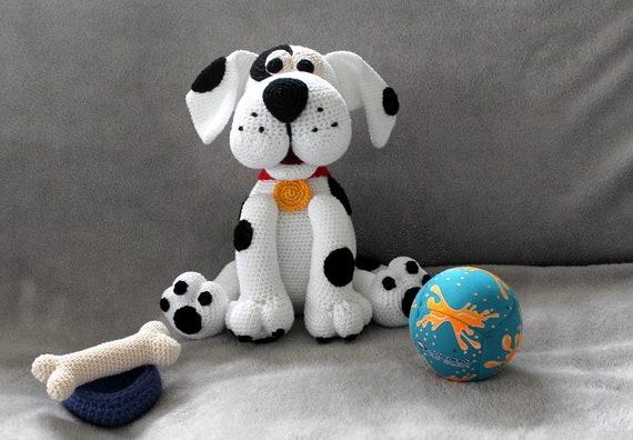 Flecki der Hund Häkelanleitung | Etsy