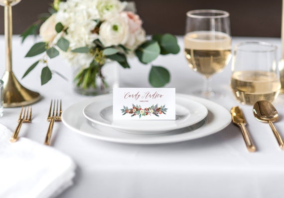 place card holder template