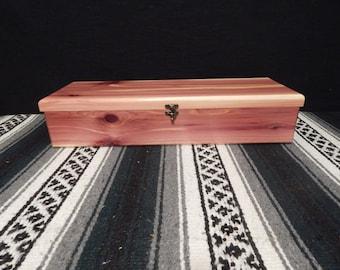 Cedar Feather Box!