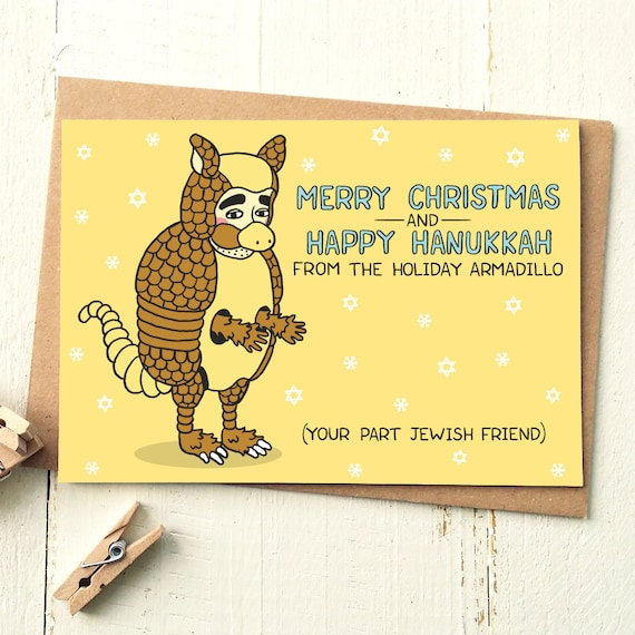 Holiday Armadillo Friends Tv Show Friends Tv Card Etsy