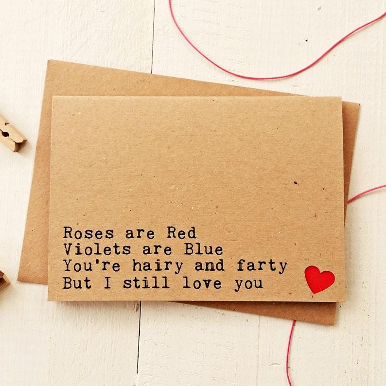 Funny Valentine Card  Valentine's Cards  Valentines Card image 0