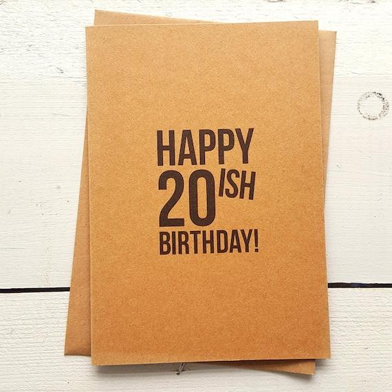 Funny Birthday Card Handmade Cards Friend