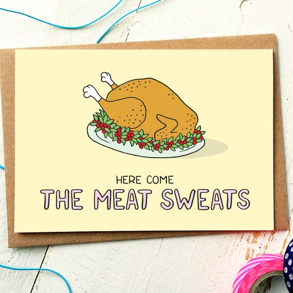 Funny holiday card funny christmas card thanksgiving cards etsy image 0 m4hsunfo