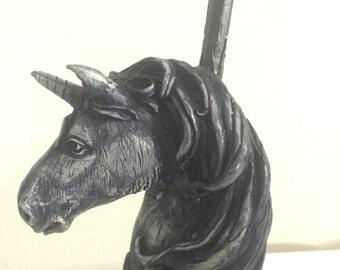 Tobacco Hand Made Pipe, Unicorn Design