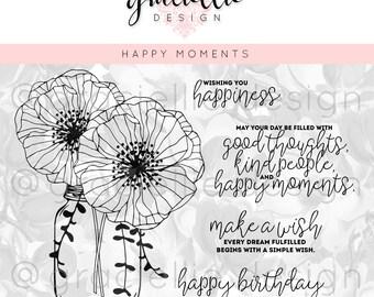 Happy Moments Digital Stamp Set