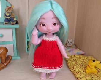 Dress for BJD Tiny (1/8) Pukifee, Lati Yellow...
