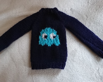 SD13 Pacman Ghost Sweater
