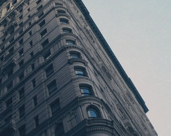 New York City Building Photograph Wall Print