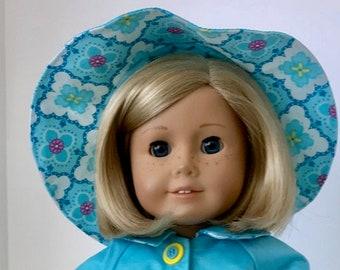 American Girl Doll: Aqua Raincoat