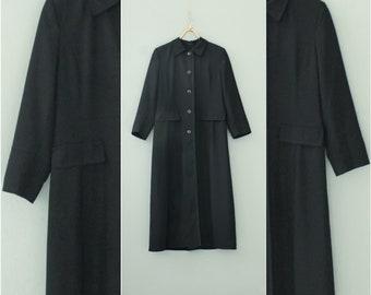 Black goth duster  4c48e9138