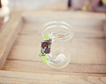 Succulent Bracelet Cuff Style