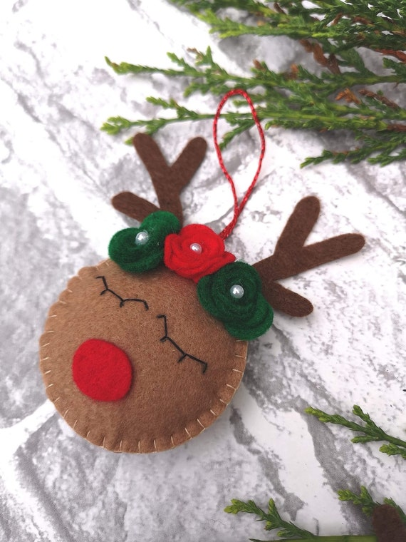 Rudolph Christmas Decorations.Christmas Tree Decorations Rudolph Bauble Rudolph Ornament Rudolph Christmas Ornament Christmas Rudolph Rudolph Christmas Decoration