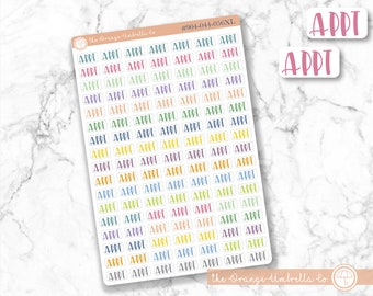 Budget Icon Stickers Budget Planner Stickers Circle Budget Icon Planner Stickers #910-026-001XL-WH