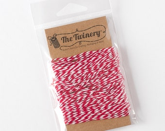 The Twinery Twine - Maraschino Red