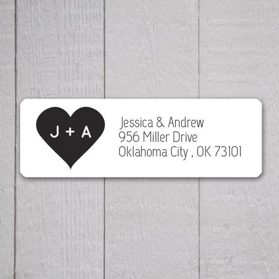 Wedding Invitation Return Address Labels Wedding Stickers | Etsy