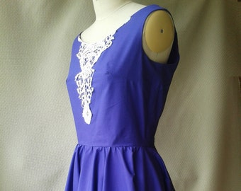Purple dress, Alice In Wonderland style