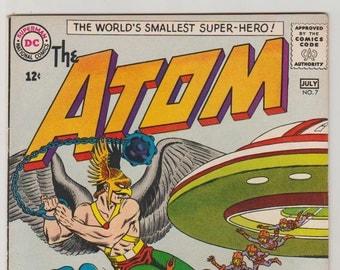 Atom; Vol 1, 7 Silver Age Comic Book.  VF- (7.5). July 1963.  DC Comics