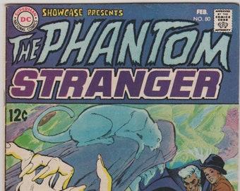Showcase (Phantom Stranger); Vol 1, 80, Silver Age Comic Book.  FN (6.0).  Feb 1969.  DC Comics