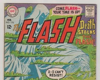 Flash; Vol 1, 176, Silver Age Comic Book. FN (6.0). February 1968.  DC Comics