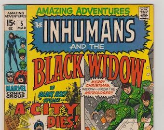 Amazing Adventures; Vol 2, 5, Bronze Age Comic Book. VF (8.0). March 1971. Marvel Comics