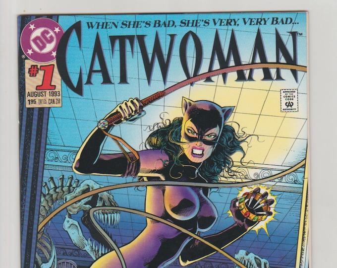 Catwoman; Vol 2, 1, Moderm Age Comic Book.  NM (9.4).  August 1993.  DC Comics