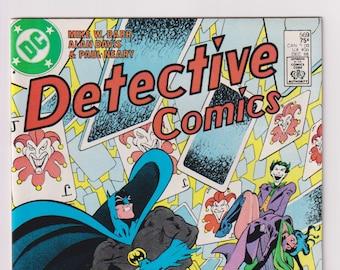 Detective Comics; Vol 1, 569, Copper Age Comic Book. NM (9.4). December 1986. DC Comics