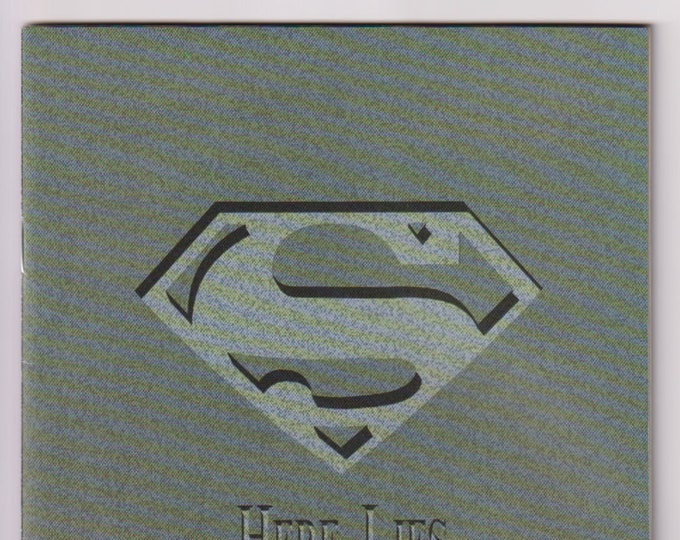 Superman; Vol 2, 75, Direct Market Memorial Edition, Armband, Posters, Obituary, and Stampes. Comic Book. VF (8.0). January 1993. DC Comics