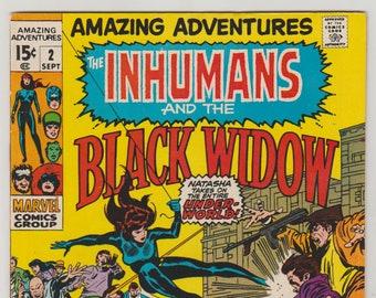 Amazing Adventures: Vol 2, 2, Bronze Age Comic Book. VF (8.0). September 1970. Marvel Comics