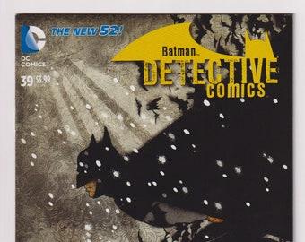 Detective Comics; Vol 2, 39, Modern Age New 52 Comic Book. Yuko Shimizu Cover Variant. NM to NM+ (9.4 - 9.6). April 2015. DC Comics