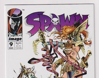 Spawn; Vol 1, 9 Modern Age Comic Book.  NM (9.4).  March 1993.  Image Comics
