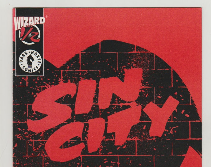 Sin City: Just Another Saturday Night; Vol 1, 1/2 (0.5) with COA, Modern Age Comic Books. NM to NM+. August 1997. Wizard, Dark Horse Comics