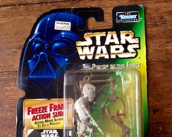 1997 8D8 (Eightdee Eight), Star Wars Power of the Force, Droid Action Figure. Carded and Factory Sealed. Kenner (Hasbro Inc).
