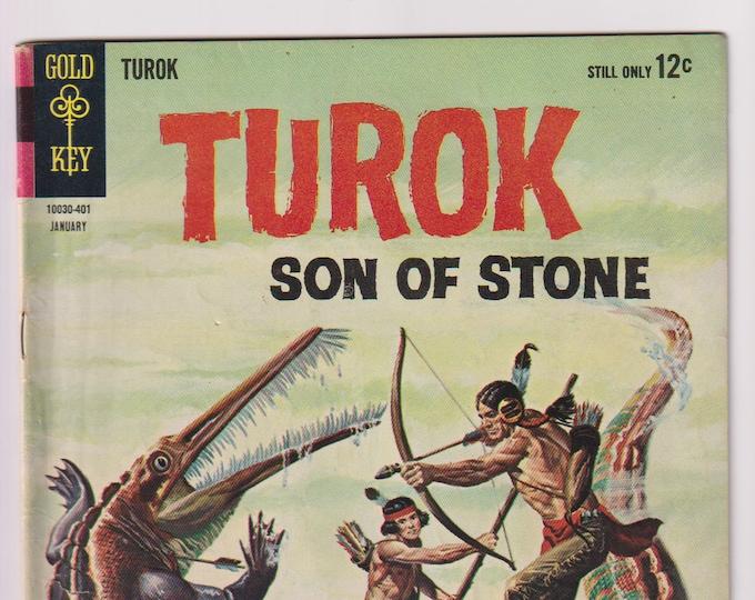 Turok Son of Stone; Vol 1, 37, Silver Age Comic Book. VG/FN (5.0). January 1963. Gold Key Comics