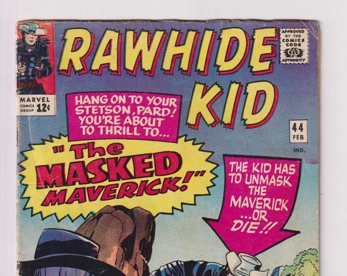 Rawhide Kid; Vol 1, 44, Silver Age Comic Book, VG- (3.5). February 1965.  Marvel Comics
