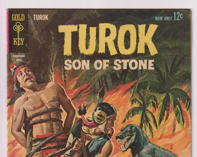 Turok Son of Stone; Vol 1, 32, Silver Age Comic Book. FN (6.0). March 1963. Gold Key Comics