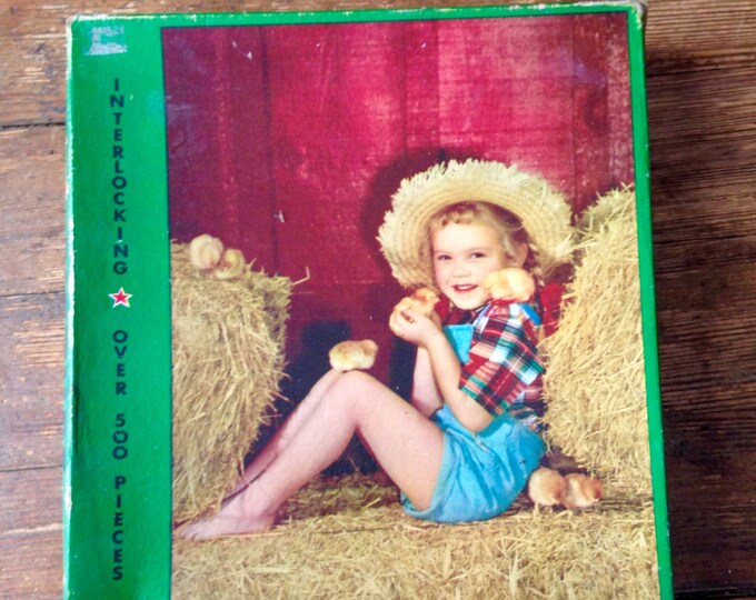 1940's Perfect Picture Puzzle, Newly Hatched. 500+ piece Jigsaw Puzzle. No 202 - 49. Consolidated Paper Box Company