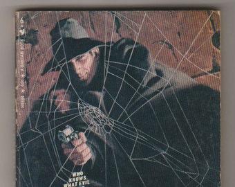1970, The Shadow: Hidden Death, Maxwell Grant (Walter B. Gibson) 1st printing. VF-. Bantam Books