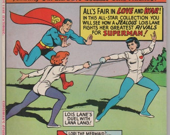 Lemaris etsy 80 page giant lois lane vol 1 14 silver age comic book vf 75 september 1965 dc comics altavistaventures Gallery