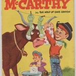 Charlie McCarthy; Vol 1, 9 Golden Age Comic Book. FN+ (6.5)  1952.  Dell Comics